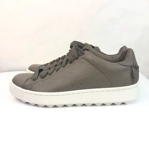 New Coach C101 Low Top Sneaker Size 9 Pebble Grey